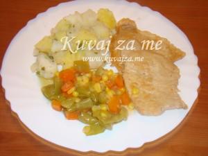 šnicle u povrću