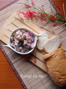 Brza riblja salata