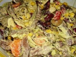 Salata s junetinom