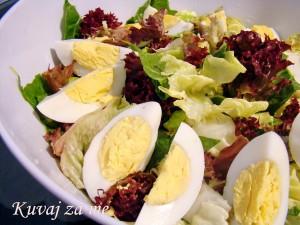 Salata s jajima