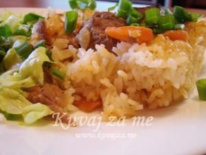 Zapečena riža