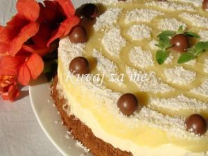 Pina Colada torta (2)