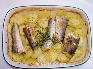 Oslić na krompiru