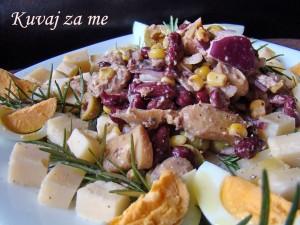 Ljubičasta riblja salata