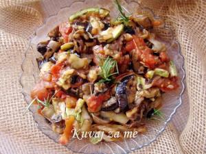 Roštilj salata