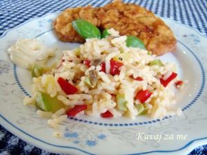 Riža sa povrćem