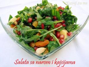 Salata sa narom i kajsijama