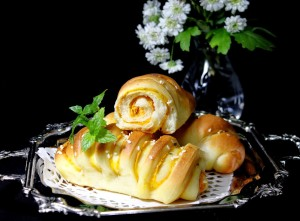 Pomoravka - Peciva sa bundevom i krem sirom