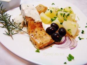 Losos u vlasac sosu