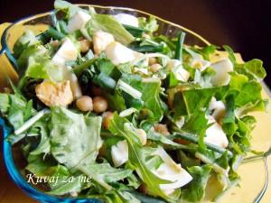 Salata od žućenice i leblebija