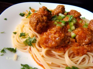 Špagete sa ćuftama
