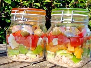 Salata u tegli