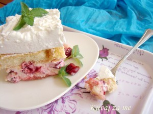 Bezimeni kolač s višnjama