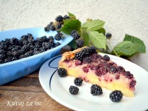 Tart sa divljim kupinama