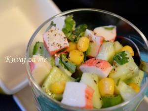 Surimi salata