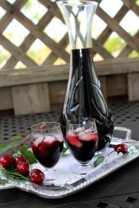 Aromatični liker od vina i trešnjinog lista 023