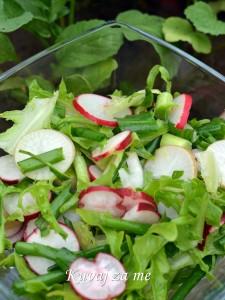 Salata od rotkvica